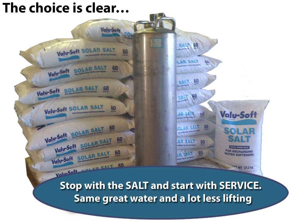 Soft Water no hassle